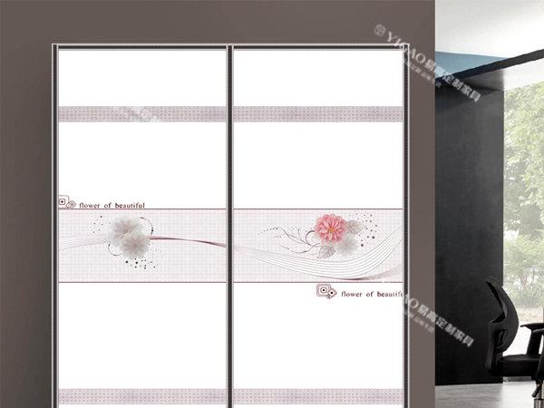 玻璃门的风格越来越多样化