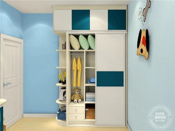 装修儿童房衣柜怎么选比较好?